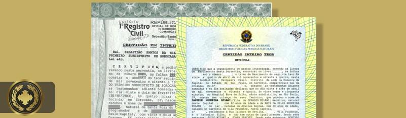 Certidão de Nascimento de Inteiro Teor – Tudo Sobre!